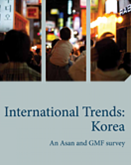 Asan-GMF Survey Project: International Trends (Korea)