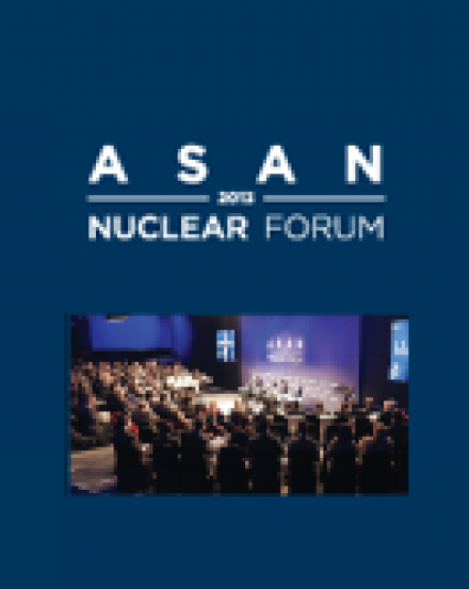 Asan Nuclear Forum 2013 – Proceedings