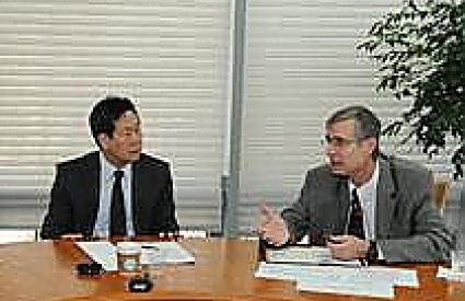 Breakfast Meeting with Dr. Bruce Bennett & Dr. KIM Taewoo
