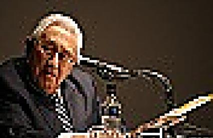"""Former U.S. Secretary of State Kissinger: """"North Korea develops nuclear weapons while starving its people"""""""
