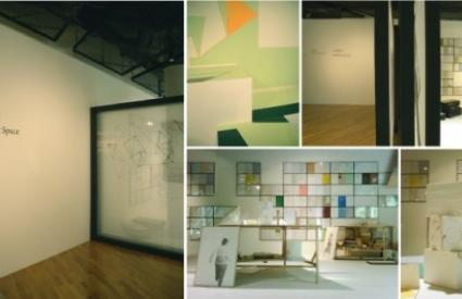 """Opening of """"Folding Space"""" gallery by artist group Eye Glass Shop"""