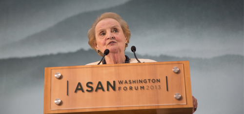 Gala Dinner Speech by Madeleine K. Albright