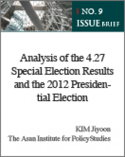 Analysis of the 4.27 Special Election Results and the 2012 Presidential Election