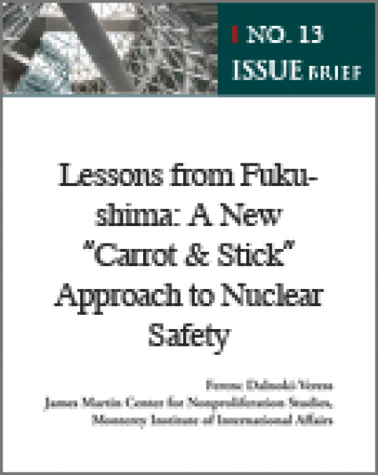 [Issue Brief No. 13] Lessons from Fukushima: A New ″Carrot & Stick″ Approach to Nuclear Safety