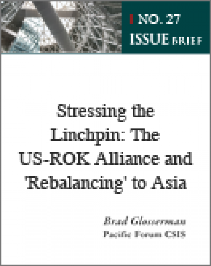 Stressing the Linchpin: The US-ROK Alliance and 'Rebalancing' to Asia