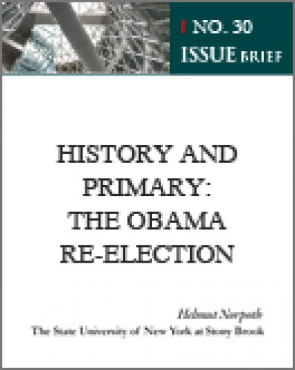 HISTORY AND PRIMARY: THE OBAMA RE-ELECTION