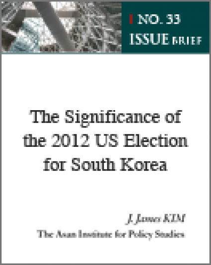 The Significance of the 2012 US Election for South Korea