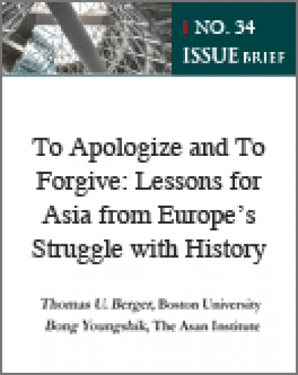 To Apologize and To Forgive: Lessons for Asia from Europe's Struggle with History