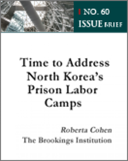 Time to Address North Korea's Prison Labor Camps
