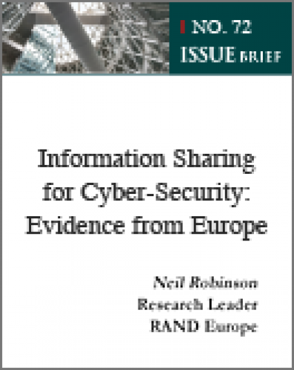 Information Sharing for Cyber-Security: Evidence from Europe