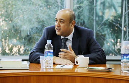 Visit by H.E. Jasem Albudaiwi, Kuwaiti Ambassador to the Republic of Korea
