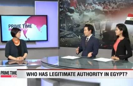 """Jang Ji-Hyang [Arirang TV] """"Turmoil in Egypt"""""""