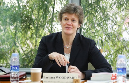 Barbara Woodward, Director General (Eco.) of Foreign and Commonwealth Office, UK