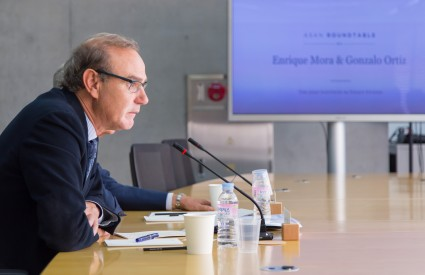 Asan Roundtable with Enrique Mora and Ambassador Gonzalo Ortiz