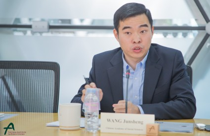 Roundtable with <br />Dr. Wang Junsheng