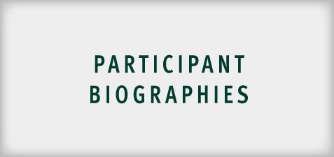 Participant Biographies 2019