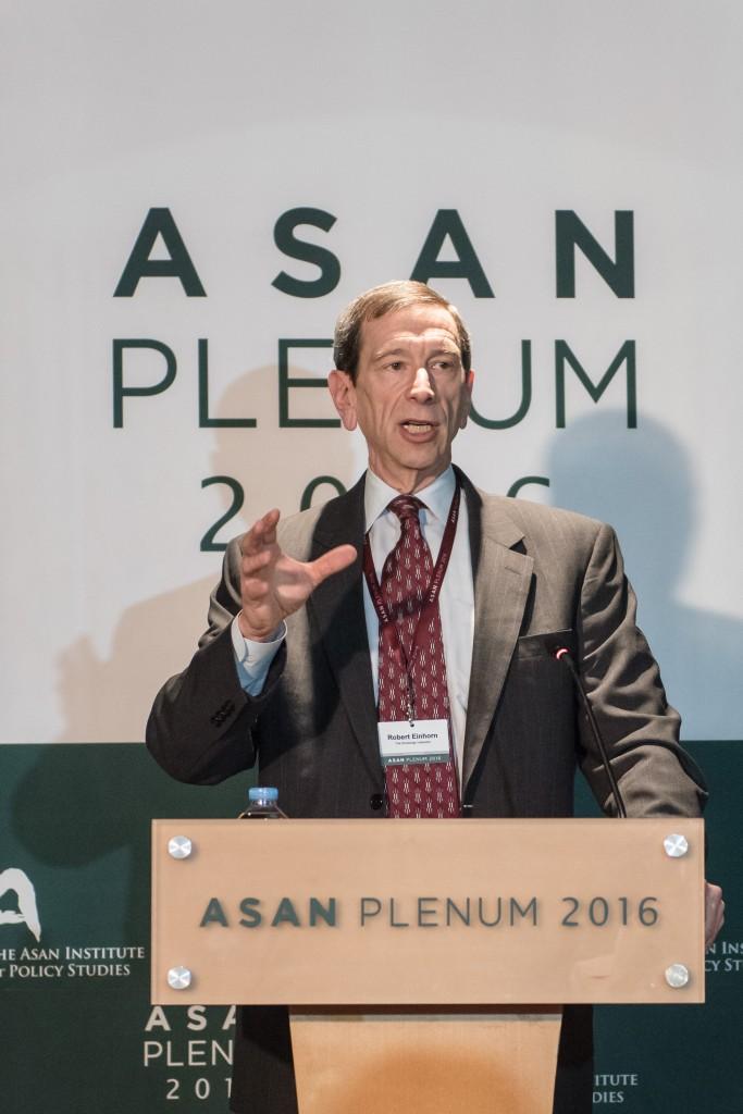 [Asan Plenum 2016] Robert Einhorn (1)