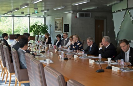 Asan Roundtable with Maria Lohela, Speaker of the Parliament of Finland and other parliament members