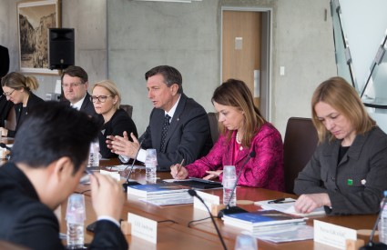 Asan Roundtable with H.E. Mr. Borut Pahor, President of the Republic of Slovenia