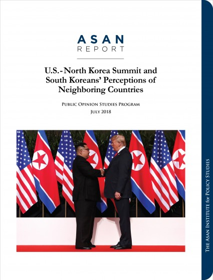 U.S.-North Korea Summit and  South Koreans' Perceptions of Neighboring Countries