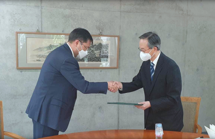 Signing of MoU with Foreign Policy Research Institute under the Ministry of Foreign Affairs, Kazakhstan (FPRI)