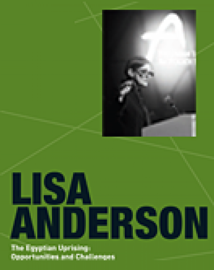 """[Asan Distinguished Speaker Series] Lisa Anderson, """"The Egyptian Uprising: Opportunities and Challenges."""""""