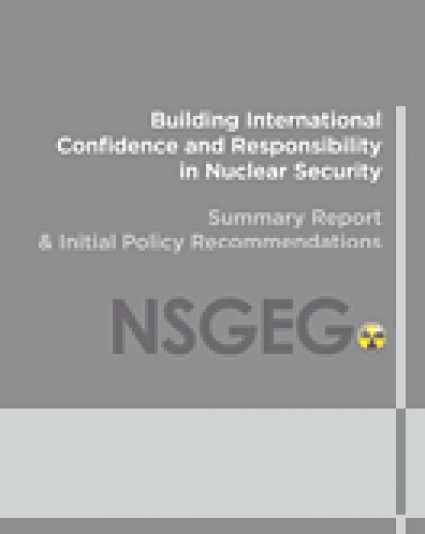 Building International Confidence and Responsibility