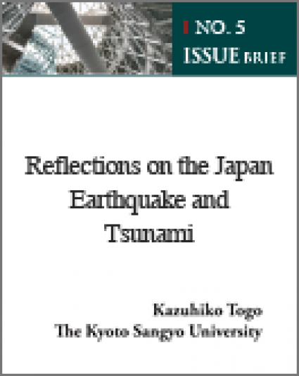 Reflections on the Japan Earthquake and Tsunami