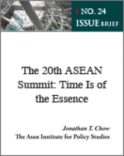 [Issue Brief No.24] The 20th ASEAN Summit: Time Is of the Essence