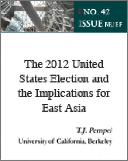 The 2012 United States Election and the Implications for East Asia