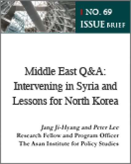 Middle East Q&A: Intervening in Syria and Lessons for North Korea