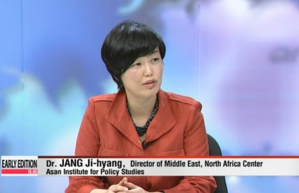 "Jang Ji-Hyang [Arirang TV – Early Edition] ""3 years Since the Start of the Arab Spring"""