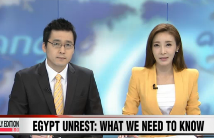"Jang Ji-Hyang [Arirang TV] ""Crisis in Egypt: Analysis"""