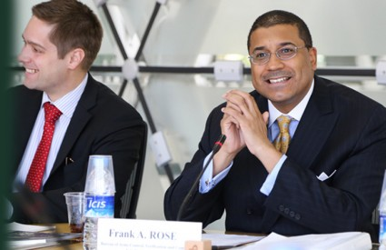 Frank A. Rose, Deputy Assistant Secretary of State for Space and Defense Policy, USA