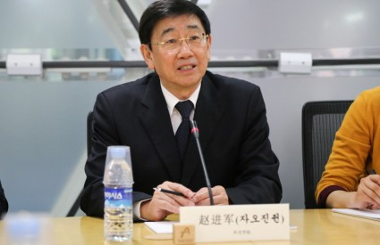 Zhao Jinjun, President of the China Foreign Affairs University