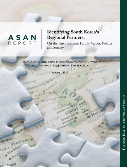 Identifying South Korea's Regional Partners: On the Environment, Family Values, Politics and Society