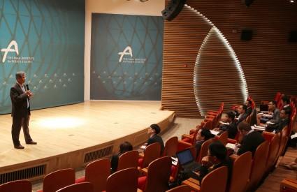 A Seminar with the delegation of Global Korea Workshop