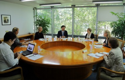 Asan Roundtable with Diplomats from 5 European Countries